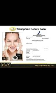 MoX soap and serum