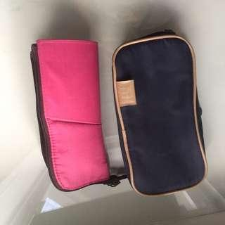 2 make up bring bag