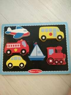 Set of 3 Wooden Puzzles