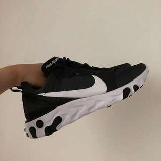 🚚 Nike react element 55 黑白 Air Force adidas new balance