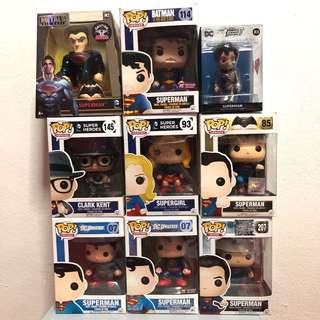 ❗️Superman Vinyl Figures SUPERSALES