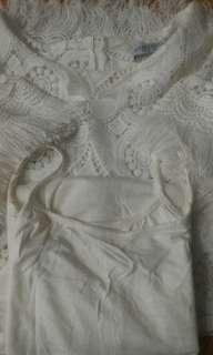 (柴灣站取$70) Lace Long Shirt
