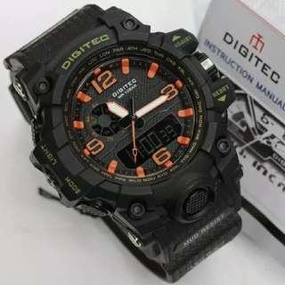 jam tangan pria Digitec 2093 Original anti air