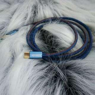 Kabel Data Denim Joyseus Type C USB Original