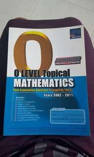 O LEVEL Mathematics Assessment book