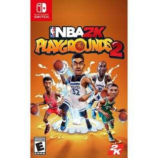 [NEW NOT USED] SWITCH NBA 2K Playgrounds 2 Nintendo 2K Sports Games
