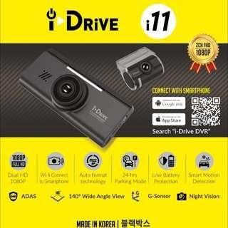 iDrive i11 Car Camera/Dashcam Installed On Mazda 3