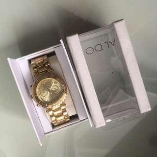 ALDO GOLD WATCH