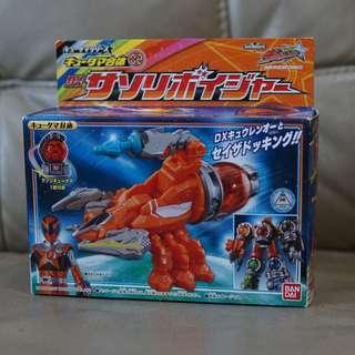 DX Uchu Sentai Kyuranger Kyutama Gattai 02 DX Sasori Voyager