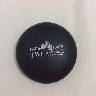 Face2Face Two Way Cake - Whitening + UV Protection