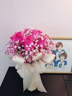 ROM wedding Bridal bouquet
