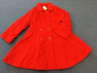 Girl's little red jecket