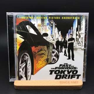 The Fast and Furious 電影音樂 CD