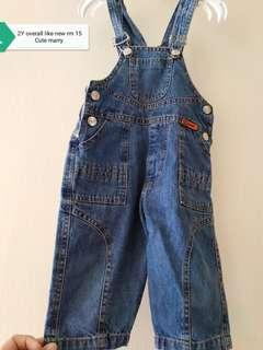 Boy Overall 2Y