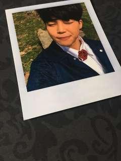 Instock Official Bangtan Boys Bts jimin Polaroid photocard pc