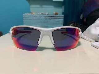 Oakley Red Sports Sunglasses