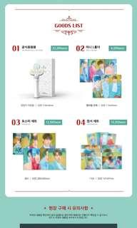VICTON 빅톤 1ST FAN MEETING :  WELCOME TO WONDERLAND GOODS