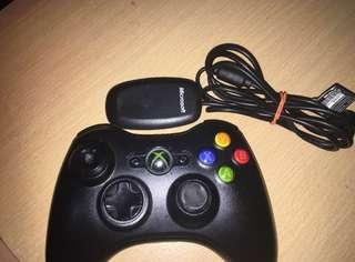 Xbox 360 Wireless Controller and receiver for PC