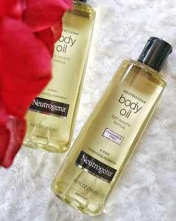 Neutrogena body Oil 250ml..