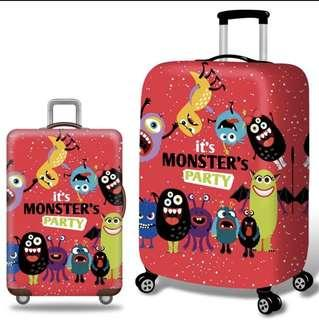 Cute Monster Luggage Cover