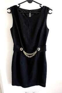 Nichii Casual Black Dress #SINGLES1111
