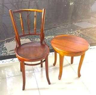 Authentic Kopitiam Chair coffee table