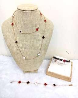 Van Cleef and Arpels Jewellery Set