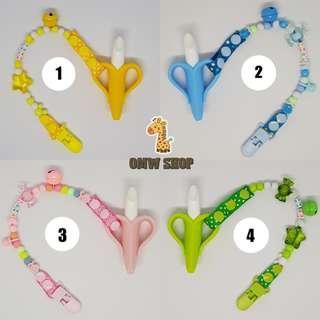 Teether Banana With Clip