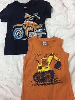 Fify motorcycle truck tshirt & sleeveless singlet