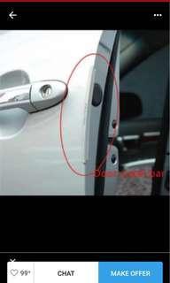 Car door protector - transparent