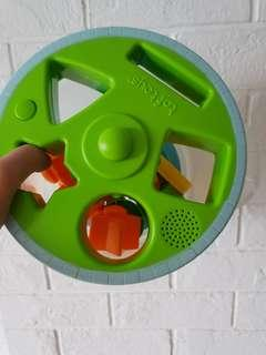 Shape sorter toy musical taf