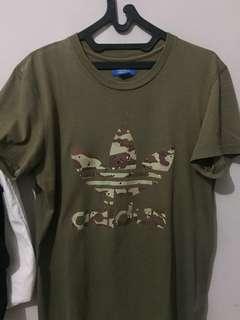 Adidas camouflage Kaos ORI