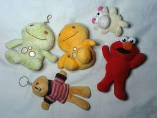Take All Mini Plushie Keychain
