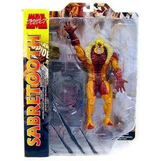 Marvel Select Sabretooth - Diamond Select / Xmen / Marvel Legends