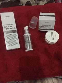 ERTOS CC Cream n Dermo Night Care Whitening