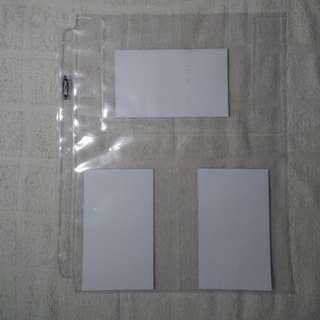BCW 3 Pocket Sleeve Binder 3 ring