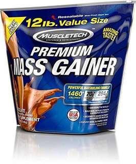 Muscle Tech Premium Mass Gainer 12lbs