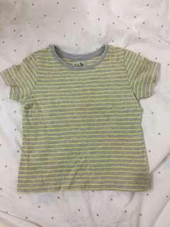 Mothercare stripe tshirt