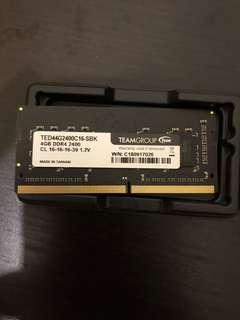 DDR4 RAM 4GB