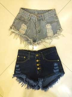 Frayed/Ripped Shorts