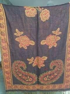 BNIP Pashmina Silk Cotton Blend Shawl/ Scarf/ Wrap