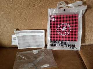🚚 日本porter 環保防水提袋網狀文件袋