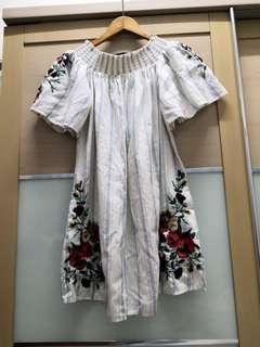 BNWT Zara Off Shoulder Casual Floral Dress #Rayathon50
