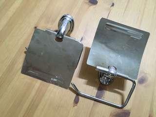 #SINGLES1111 Stainless Steel Toilet Roll Holder
