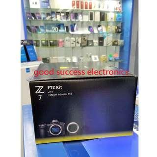 Nikon Z7 連接環配接器 FTZ 套裝 內附 64GB XQD 記憶卡 全新香港行貨