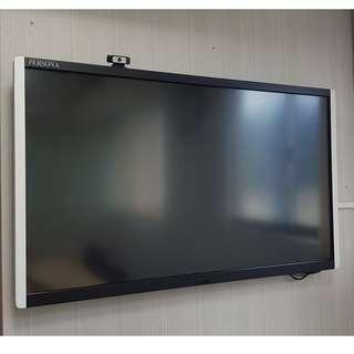 PERSONA 65吋 表面光波10點觸控螢幕 +500G小電腦+羅技鍵盤滑鼠