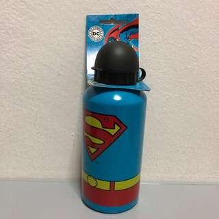 Superman aluminium drink bottle
