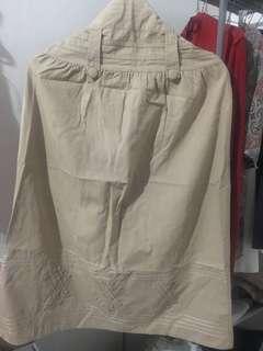 [TERMURAH] rok panjang dengan karet dibelakang