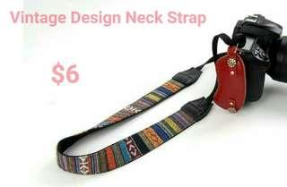 Vintage Neck Strap