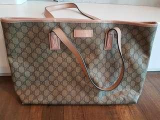 Pre loved Authentic Gucci Tote Bag